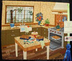 Fragrant Memories (Rachel Wetzler maker and quilter). Dallas Quilt Show