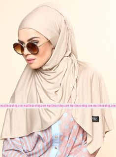 Abbigliameto Halal Islamico Negozio Online  #islamic #hijab #modest #fashion product  Combed Cotton Jersey Shawl - Beige - Rabia Z - Fabric Info:  100% Combed Cotton    Weight: 0.226 kg  Sizes:  Width: 75 cm  Height: 200 cm - SKU: 200475. Buy now at http://muslimas-shop.com/combed-cotton-jersey-shawl-beige-rabia-z200475.html