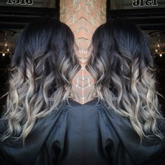 brown grey ombre hair - Αναζήτηση Google