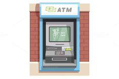 Street ATM teller machine @creativework247