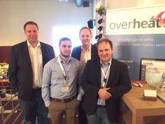 Tolles treffen mit @overheatapp und @stefanhaab beim Treffpunkt #ecommerce #xovi