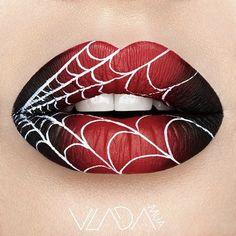 Супер макияж губ от Влады Хаггерти
