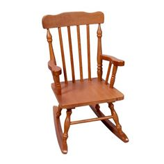 Kids' Colonial Rocking Chair - Honey Target 53.99
