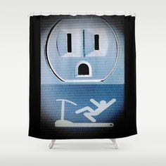 Oh No! Shower Curtain by Inspired By Fashion - $68.00