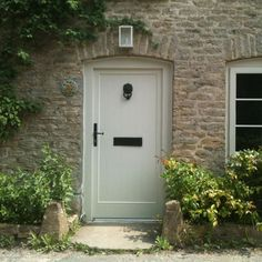 Choose any of these beautifully traditional porches and doors, or give an instant update with new door furniture, and you can guarantee guests a warm welcome and stop passers-by in their tracks. Cottage Front Doors, Cottage Door, House Doors, Traditional Front Doors, Traditional Porch, Front Door Canopy, Beautiful Front Doors, Classic Doors, Country House Interior