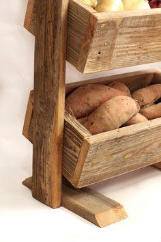 Bin de pommes de terre-bin végétale scandinave Grange