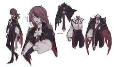 Anime Oc, Anime Manga, Anime Guys, Character Art, Character Design, Miss Girl, Albedo, Manga Games, Video Game Art