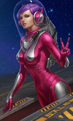 sexy anime space suit - photo #25