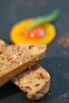 Foie gras poché aux vendanges tardives