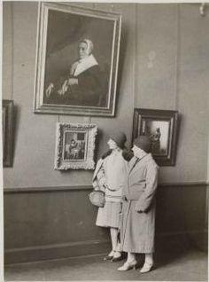 In the Rijksmuseum, 1928
