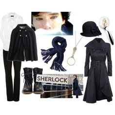 Sherlock -- Really, this is true Sherlock chic for the ladies.  I really must have that trench.