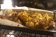 Michelle's popcorn cauliflower. This side dish is a serious hit in my house. Everybody gobbles it up! So glad it's on a blog now so I can PIN IT!