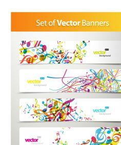 BANNER / Free vector Vector banner banner03dynamic pattern vector