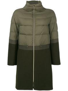 50b724fdc2a Herno Пальто с Панельным Дизайном - Farfetch. Зимние Куртки