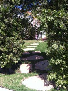 A Garden Path In Santa Monica
