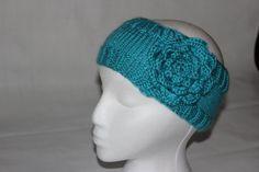 Hand knit headband
