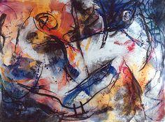 Duel, 1992, 195 x 260 cm