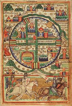 Plan de Jerusalem, c. 1200