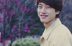 Kentaro Sakaguchi's smile.