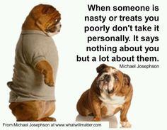 So, don't gossip!
