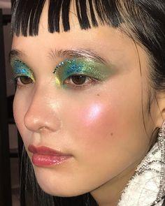 Makeup by Marcelo Gutierrez Cool Makeup Looks, Cute Makeup, Pretty Makeup, Edgy Makeup, Makeup Inspo, Makeup Inspiration, Kiss Makeup, Makeup Art, Beauty Makeup