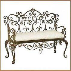 European-style white fashionable Beach Chair Iron art antique siesta lounge Bar singles dining chair Two-seat sofa Chair(China (Mainland))