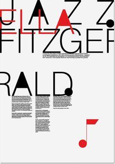 Jazz posters. Fitzgerald