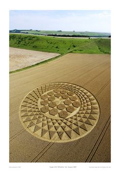 Crop circle, Sugar Hill 2007