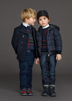 dolce and gabbana winter 2016 child collection 125 Little Boy Fashion, Kids Fashion Boy, Toddler Fashion, Boys Fashion Dress, Toddler Boys, Kids Boys, Fashion Trends 2018, Fashion 2020, Preppy Boys