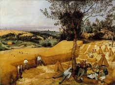 The Harvesters, Pieter Bruegel the Elder (1565)  ibiblio.org/wm/paint/auth/bruegel