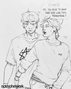 *crosses fingers bcs she hopes this happened irl* #Kookmin #Fanart by notcypherwork