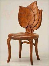 Handgemaakte stoel