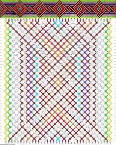 friendship bracelet patterns hard - Recherche Google