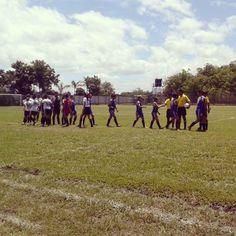 Primera Fecha, Torneo Apertura 2014-2015 del Fútbol Femenino Nicaragüense - XXIII Torneo Nacional  Águilas de León 16-0 Pinolero F.C