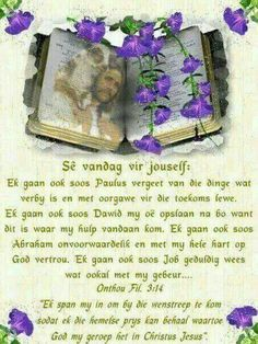 Bible Emergency Numbers, Afrikaanse Quotes, Goeie More, Christian Messages, Good Morning Greetings, Scripture Quotes, Scriptures, Bible Verses, Special Quotes