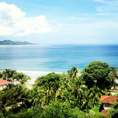 Playa Flamingo, Costa Rica. Stay at The Mariner Inn here. Cheap rates and good food.