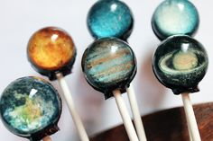 Solar- System Lollipops
