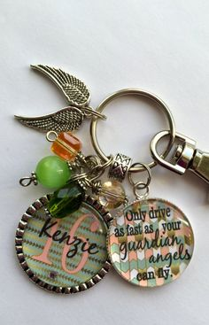 Personalized Daughter/Friend GIFT Only drive as fast by TrendyTz