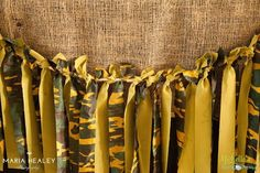 Army Party Ideas by Michelle's Party Plan-It - DIY party ideas, party favors, stationery, games, activities and more! Cheerleading Decorations, Army Party Decorations, Party Themes, Party Ideas, Army Themed Birthday, Army's Birthday, Birthday Ideas, Army Decor, Military Party