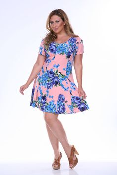 Plus Size Pretty in Print. 224 by WhiteMarkOutlet on Etsy, $49.99