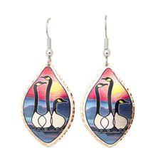 'Friends' Artist Collection Copper Earrings