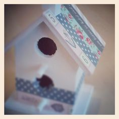 casita de pajaros Cinta Washi Tape, Masking Tape, Tapas, Bird Houses, Outdoor Decor, Blog, Paper Basket, Framing Mirrors, Picture Letters