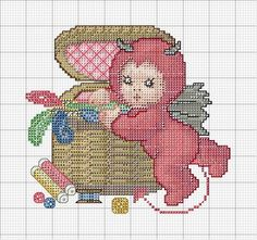 Sewing Basket Devil • 4/6 ♥