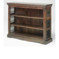 Jali Low Bookcase