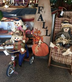 Fall has arrived at Isaac's Rusty Wagon. Primitive, one of a kind, decor. Just in at Isaac's Rusty Wagon 421 South Pershing (Hwy 148) Energy, IL 62933 Open Tues-Sat 10 am to 5 pm. Home decor, Vintage, and Much More!