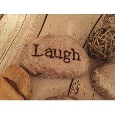 Laugh stone pebble £1.95