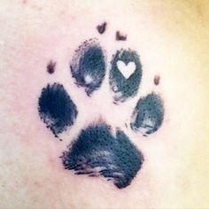 47 Tiny Paw Print Tattoos For Cat And Dog Lovers Luchs Pfotenabdruck Tattoo Tatoo Dog, Dog Tattoos, Animal Tattoos, Body Art Tattoos, Small Tattoos, Tatoos, Tattoo Cat, Cat Paw Print Tattoo, Dog Pawprint Tattoo