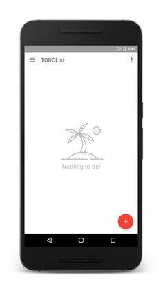 TODOList [NEW] app – Material Design