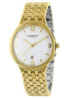 Price:$94.43 #watches Stuhrling Original 603.32332, Created in a blend of fashion and class, this Stuhrling timepiece exhibits a bold style that adds flare to your collection.