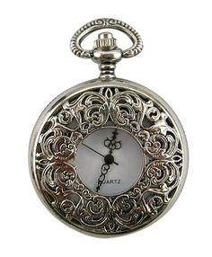 Recollections: Filigree Pocket Watch.  There's something magical about pocket watches...